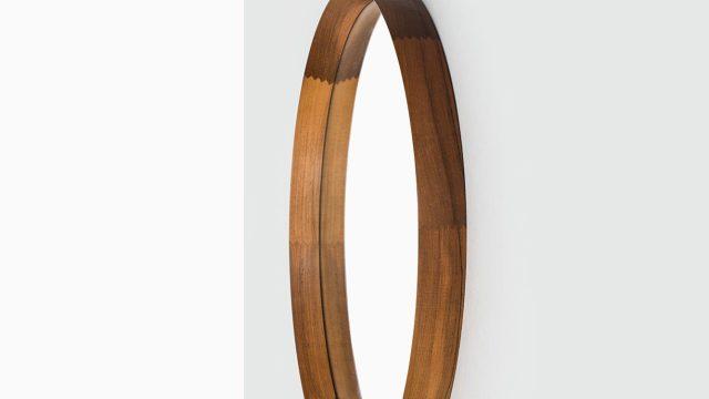 Uno & Östen Kristiansson round mirror by Luxus at Studio Schalling