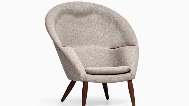 Nanna Ditzel Oda easy chair by Poul Kolds Savværk at Studio Schalling