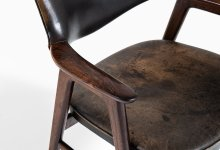 Erik Kirkegaard armchair in rosewood at Studio Schalling