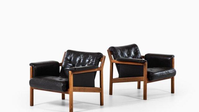 Karl-Erik Ekselius easy chairs