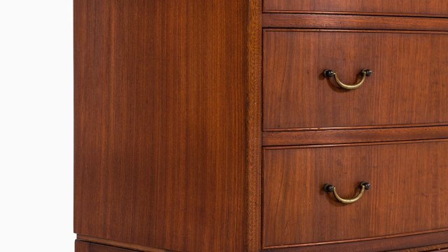 Ole Wanscher chest of drawers in mahogany at Studio Schalling