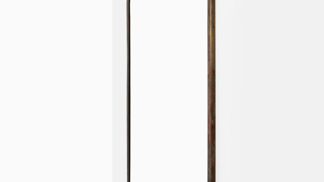 Josef Frank mirror in patinated brass at Studio Schalling