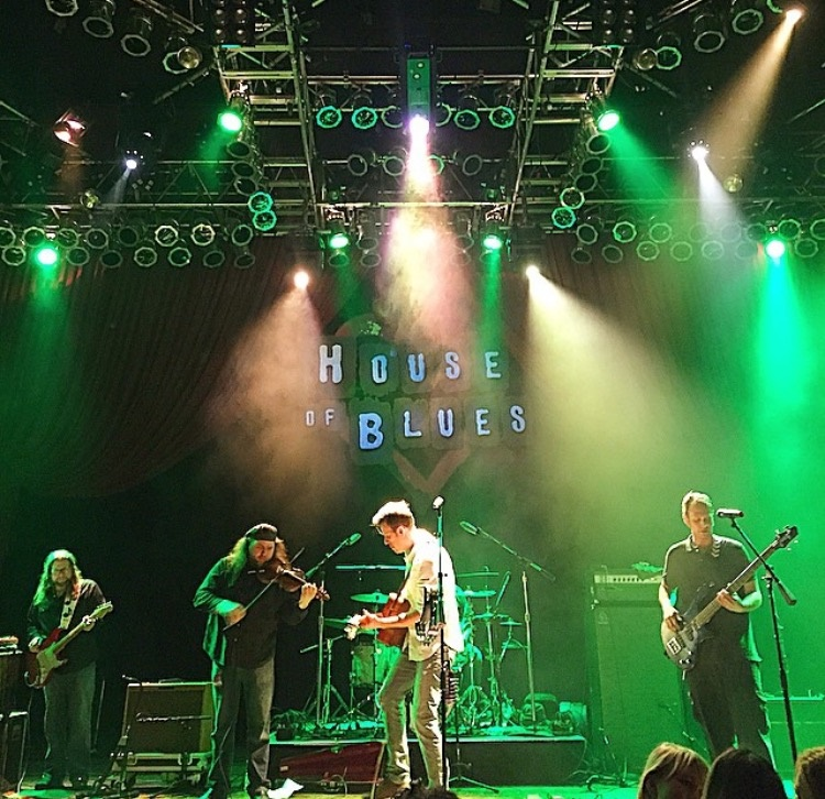 Backyard Cohort at House of Blues