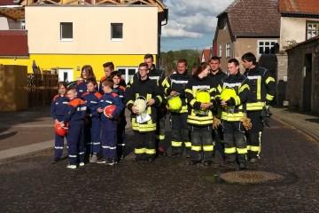 Maibaumsetzen in Ingersleben 2018 24 - Jubiläumsfeier der FFW Ingersleben
