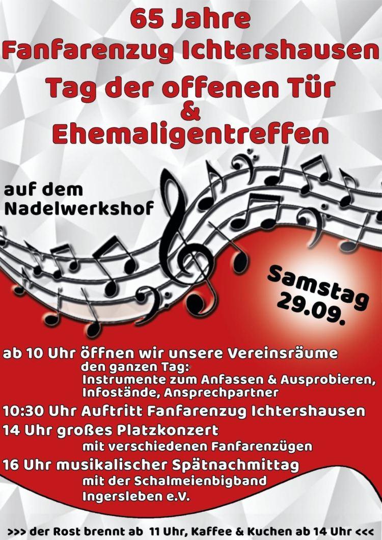 65 Jahre Fanfarenzug Ichtershausen - Fotos