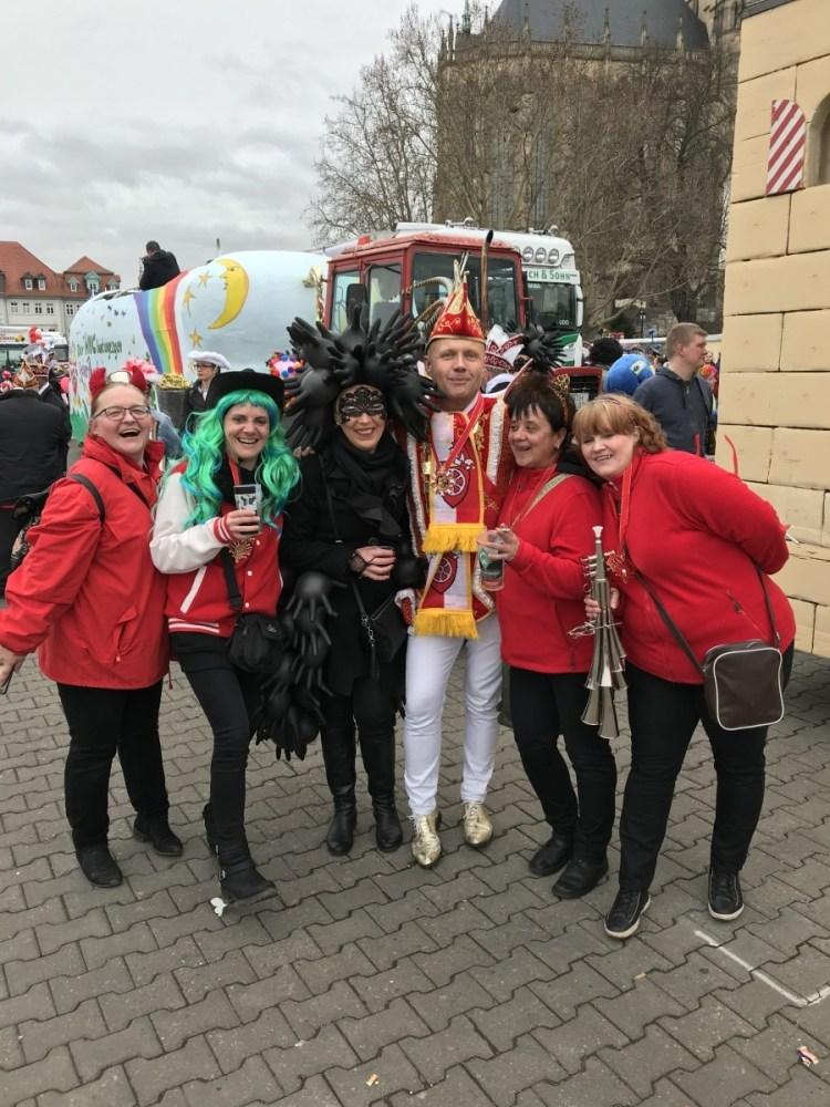 Karnevalsumzug Erfurt 2019 7 - Karnevalsumzug Erfurt 2019
