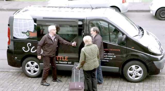 Der Scharff-Shuttle-Service