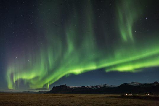 Island – Nordlicht am Polarmeer