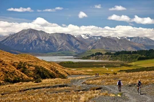 Leider nur sehr klein new zealand mountain biking 3 Pacific Cycle Tours - Neuseelands Naturschätze - Im Land der Maori und Kiwis