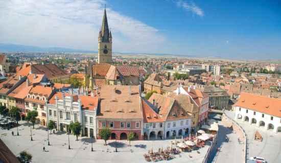 Sibiu / Hermannstadt - Eine der schönsten Städte in Rumänien