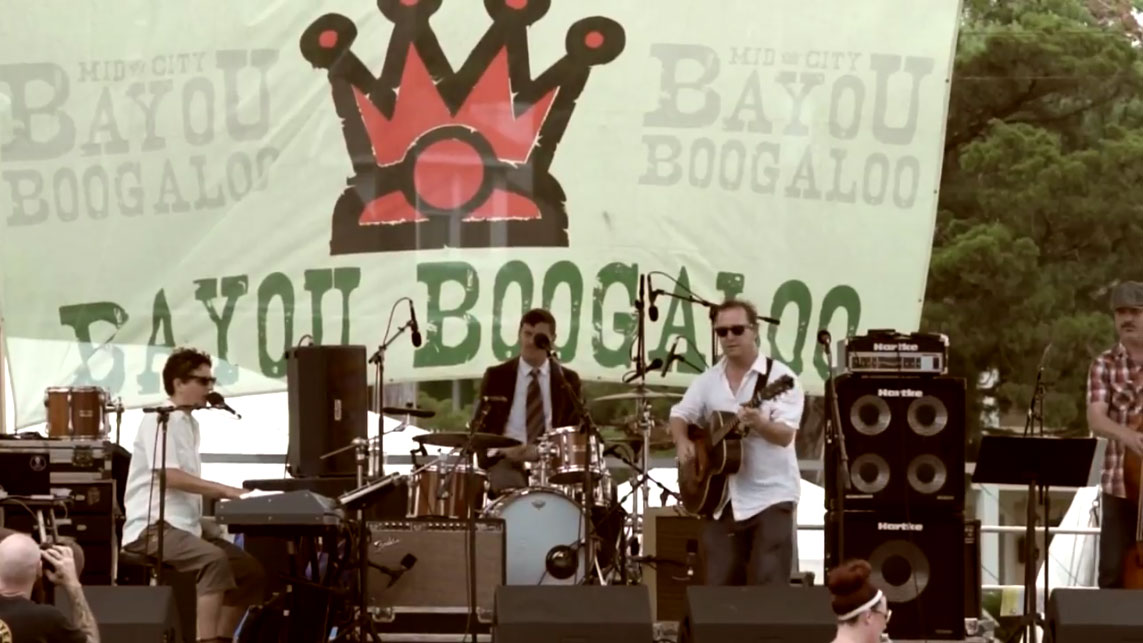 Don't Give Up on Love - Bayou Boogaloo