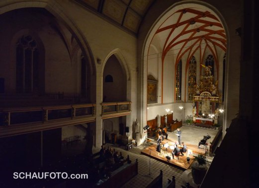 BL!NDMAN PLAYS SCH!!TZ, 18.10.2013 in der Marienkirche zu Weißenfels