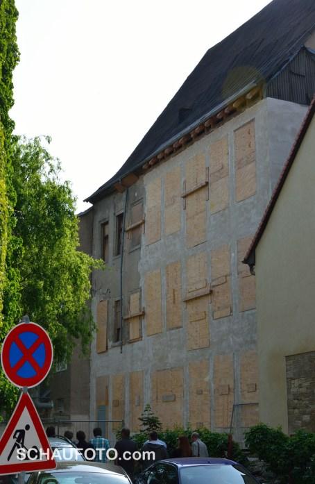 Hofmarschallhaus von hinten.