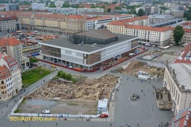 Die Ausgrabungsstellen werden bald überbaut.