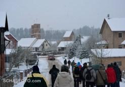 Das Kloster Veßra ist sofort in Sichtweite.