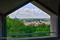 Ausblick auf das Weißenfelser Zentrum mit Schloss Neu-Augustusburg