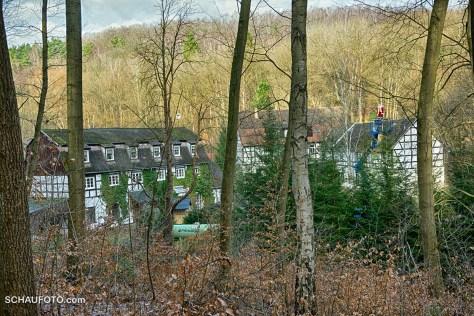 """Wintersicht zur """"Schössersmühle"""""""