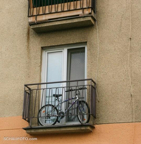 Piešťany, Fahrradbalkon