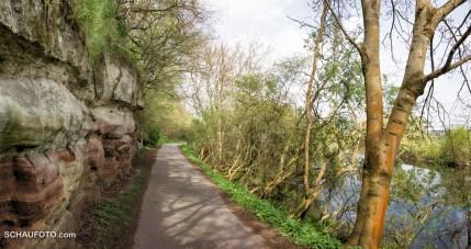 Saaleradweg & Geopfad