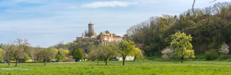 Postkartenblick auf Schönburg