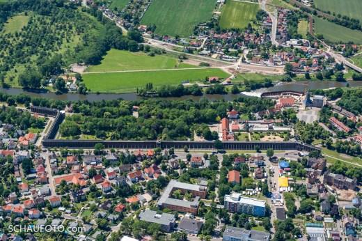 Bad Dürrenberg, Saline mit Kurpark