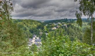 Da unten laufen wir nachher lang: Sparnberg
