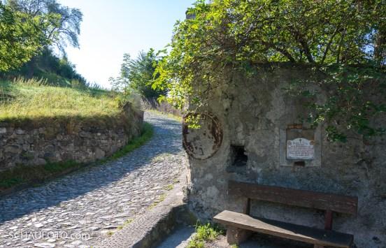 Aufstieg zum Schloss Churburg