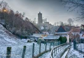 Annäherung an die Schönburg