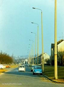 Weißenfels West - Straßenlaternen wie in einer Weltstadt