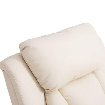 Homcom® Elektrischer Fernsehsessel Aufstehsessel Relaxsessel Sessel mit Aufstehhilfe (creme) -