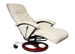 Massagesessel Fernsehsessel Relaxsessel Massage+Heizung TV Sessel CREME -