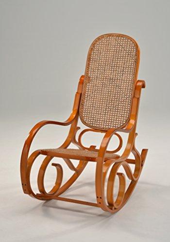 Schaukelstuhl aus Holz -