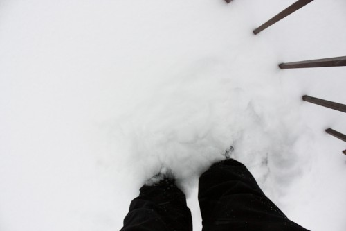 Can Snow Clean Dirty Shoes-9