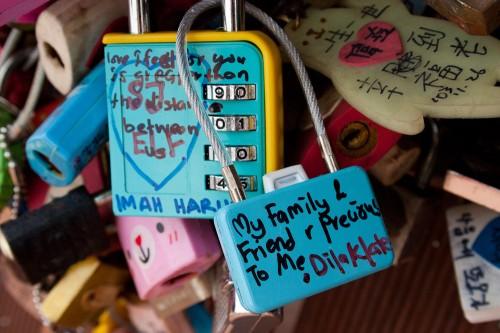 N Seoul Tower Love Locks-18