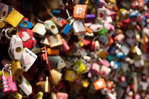 N Seoul Tower Love Locks-20