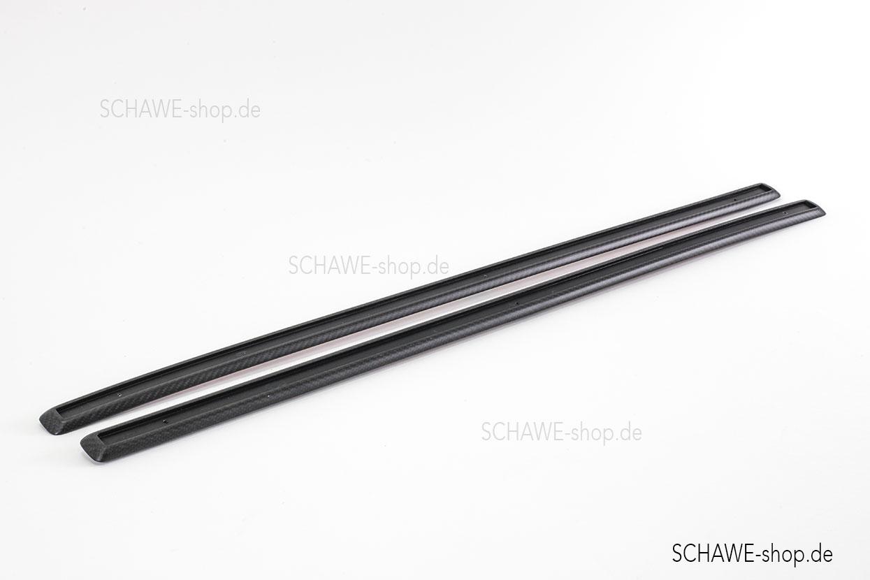 Nachrüstung: SCHAWE Carbon Schutzleisten für Mercedes-Benz