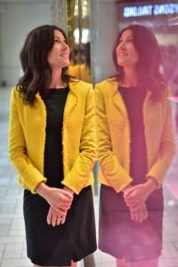 Gerard Darel Roxanne Tweed Jacket