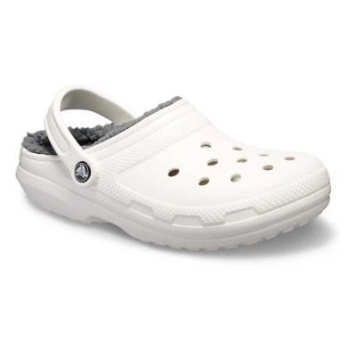 Adult Crocs Classic Fuzz Lined Clogs Scheels