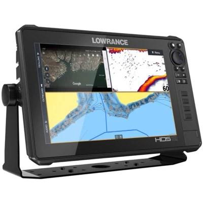 Lowrance HDS12 LIVE Fish Finder No Transducer Model