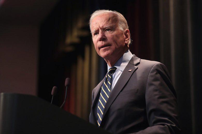 Image of Joe Biden talking