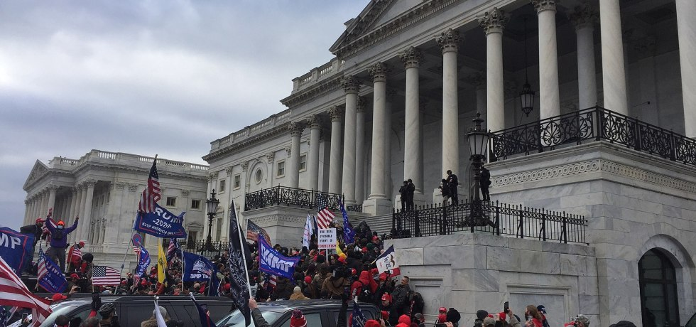 Protesters at the U.S. Capitol on Jan. 6, 2021