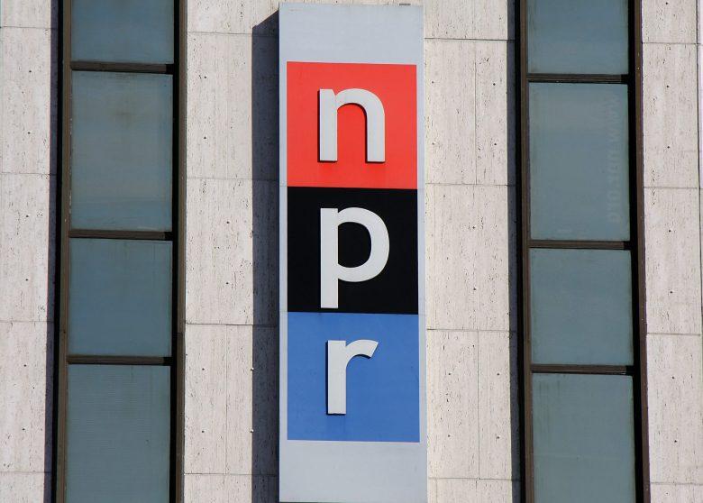 Image of NPR sign