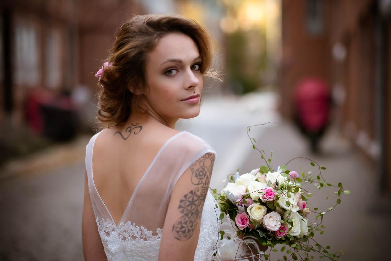 Brautshooting im Hamburger Gngeviertel  Andrea Scheib