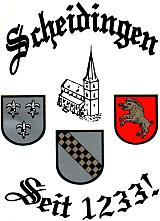 Scheidingen Logo Wappen