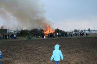 Das Feuer nimmt fahrt an