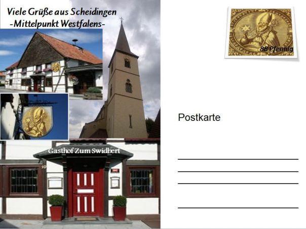 Swidbert-Postkarte