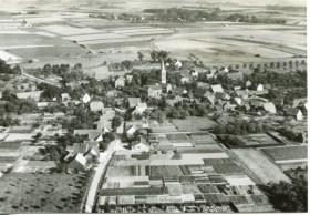 Luftbild aus den Sechziger Jahren