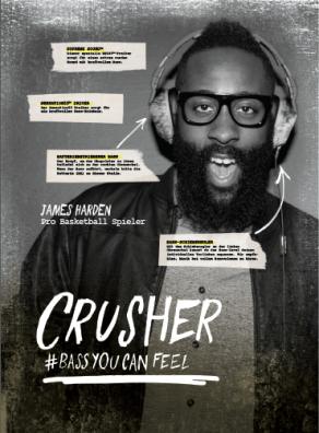 Crusher Headphones 2015 Illustration (James Harden)