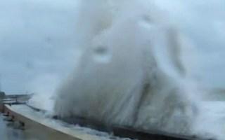 Drie zandeilanden beschermen Belgische kust tegen superstorm