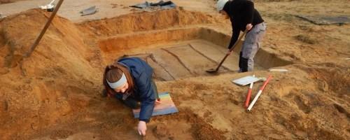 Archeologen vinden vroegmiddeleeuwse graven bij Sigmawerken in Durmevallei